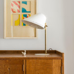 A model 9227 table lamp by Paavo Tynell (1890-1973)