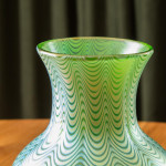 "A ""Candia Phanomen"" iridescent glass vase by Johann Loetz"