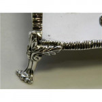 SOLID SILVER INKSTAND / INK WELL / PEN STAND LONDON 1929
