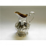 VICTORIAN SILVER COFFEE & TEA SET SHEFFIELD 1900 (Teapot , Coffee Pot)