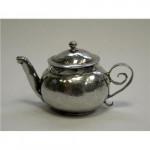 Antique William III Silver Miniature Tea Pot / Teapot London 1700