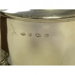 Solid Silver 4 Piece Tea Set Birmingham 1928