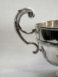 LARGE ANTIQUE SILVER TROPHY / CUP SHEFFIELD 1907 PRIZE PRESENTATION