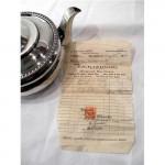 ANTIQUE GEO. III GEORGIAN SILVER TEAPOT / TEA POT LONDON 1811