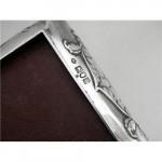 Antique Silver Jewellery Box London 1902