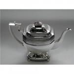 George III Silver Tea Pot London 1810 by Crispen Fuller