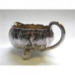 Antique Victorian Sugar & Cream Set London 1885 (Milk Jug / Sugar Bowl)