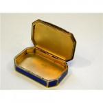 Austrian Silver, Enamel & Pearl Box c 1900