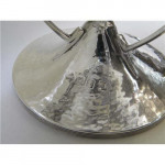 (SOLD) ARTS & CRAFTS SCOTTISH SILVER DISH / BOWL GLASGOW 1909