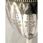 ANTIQUE VICTORIAN SCOTTISH SILVER WINE GOBLET / CHALICE GLASGOW 1865