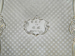 VICTORIAN SILVER CASTE TOPPED CARD CASE BIRM. 1843 THE CHICHESTER  CROSS