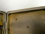 VINTAGE GERMAN ENAMEL CIGARETTE CASE ALPACCA c. 1920 DOG / BORDER COLLIES