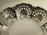 VICTORIAN SILVER CENTERPIECE, TABLE GARNITURE / COMPORT SET / EPERGNE  DISH 1900