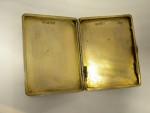 RARE ANTIQUE SOLID SILVER & ENAMEL CIGARETTE CASE LONDON 1910