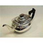 Antique Solid Silver Tea Pot Sheffield 1909
