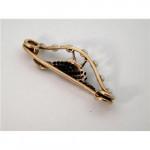 VICTORIAN GOLD, DIAMOND, ENAMEL & PEARL PHEASANT / BIRF BROOCH c 1880