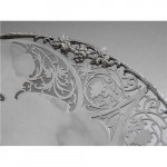 VINTAGE SOLID SILVER DISH SHEFFIELD 1935