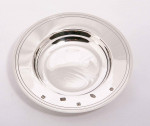 "Solid Silver 12"" Amarda Dish / Arms Dish / Bowl / Drakes Dish"