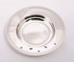 "Silver 10"" Amarda Dish / Arms Dish Bowl (Drake's Dish)"