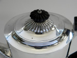 ANTIQUE VICTORIAN SOLID SILVER COFFEE POT LONDON 1888
