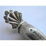 Modern Solid Silver Duck Paper Weight / Paper Clip London 2000 Millennium Hallmark
