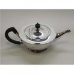 ANTIQUE SOLID SILVER TEA POT / TEAPOT LONDON 1912