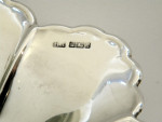 Antique Solid Silver Dish / Fruit Bowl Sheffield 1911