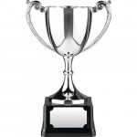 Nickel Plated 16 Inch Trophy / Cup / Prize