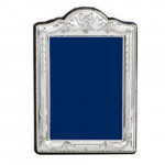 """Silver Victorian Style Photo Photograph Frame Swag & Bow (10 x 8"""")"""