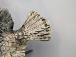 VINTAGE SOLID SILVER BIRD SALT / PEPPER SHAKER MODEL LONDON 1971