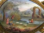 RARE ANTIQUE AUSTRIAN SILVER GILT & VIENNESE ENAMEL TORTOISE SHAPED BOX c. 1870