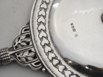 SILVER ARTS & CRAFTS HAND MIRROR LONDON 1919 ARTIFICERS GUILD EDWARD SPENCER
