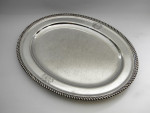 ANTIQUE OLD SHEFFIELD PLATE MEAT PLATTER / SERVING TRAY c. 1840