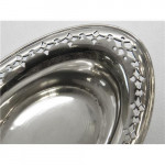 4 STERLING SILVER TIFFANY & CO ALMOND DISHES U.S.A c. 1920
