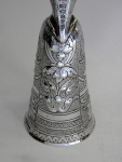 VICTORIAN SILVER WAGER MARRIAGE LOVING CUP GOBLET CONTINENTAL IMPORT MARK 1897