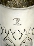 ANTIQUE SOLID SILVER TROPHY / CUP / PRIZE LONDON 1904