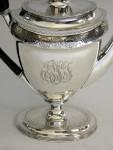 ANTIQUE GEO. III GEORGIAN SILVER COFFEE POT LONDON 1801