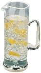 Silver & Glass Water / Pimms Jug