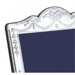 """7 x 5 Inches Silver Photo Frame Swag & Bow (5 x 7"""")"""