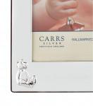 Silver Baby Child's Christening Photo Frame (6X4) Teddy Bears