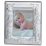 Silver Baby Child's Birth / Christening Frame