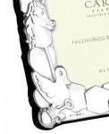 Solid Silver Baby / Child's Frame (Birth Christening Gift)