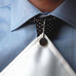 Solid Silver Napkin Hook / Serviette Clip