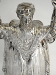 RARE CONTINENTAL SILVER WAGER / LOVING CUP IMPORT 1901 MULLER
