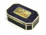 AUSTRIAN SOLID SILVER & ENAMEL BOX c.1910