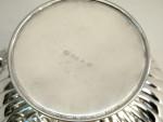 SILVER PLATE DISH / BOWL / TROPHY c. 1960 ENGRAVABLE
