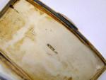 CONTINENTAL SILVER & ENAMEL BOX c. 1930