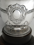 ANTIQUE SOLID SILVER TROPHY / CUP / PRIZE ON PLINTH CHESTER 1912