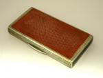 RARE GERMAN CONTINENTAL SILVER & ENAMEL BOX c. 1920