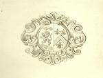 GEORGE II GEORGIAN SILVER SALVER / TRAY LONDON 1738